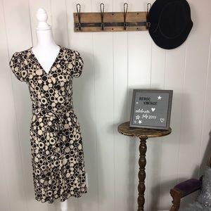 Super cute faux wrap dress